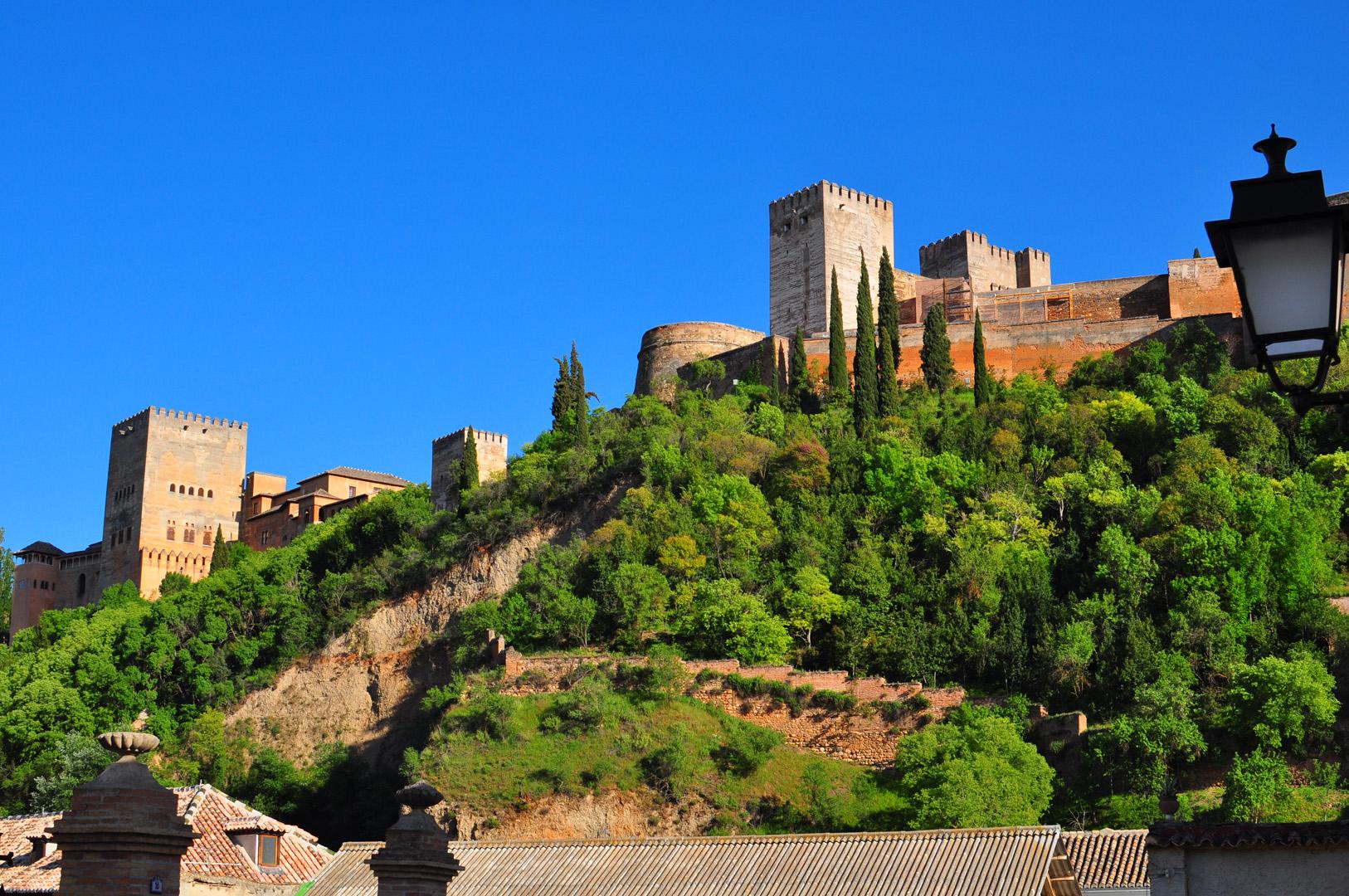 Otra toma de la Alhambra