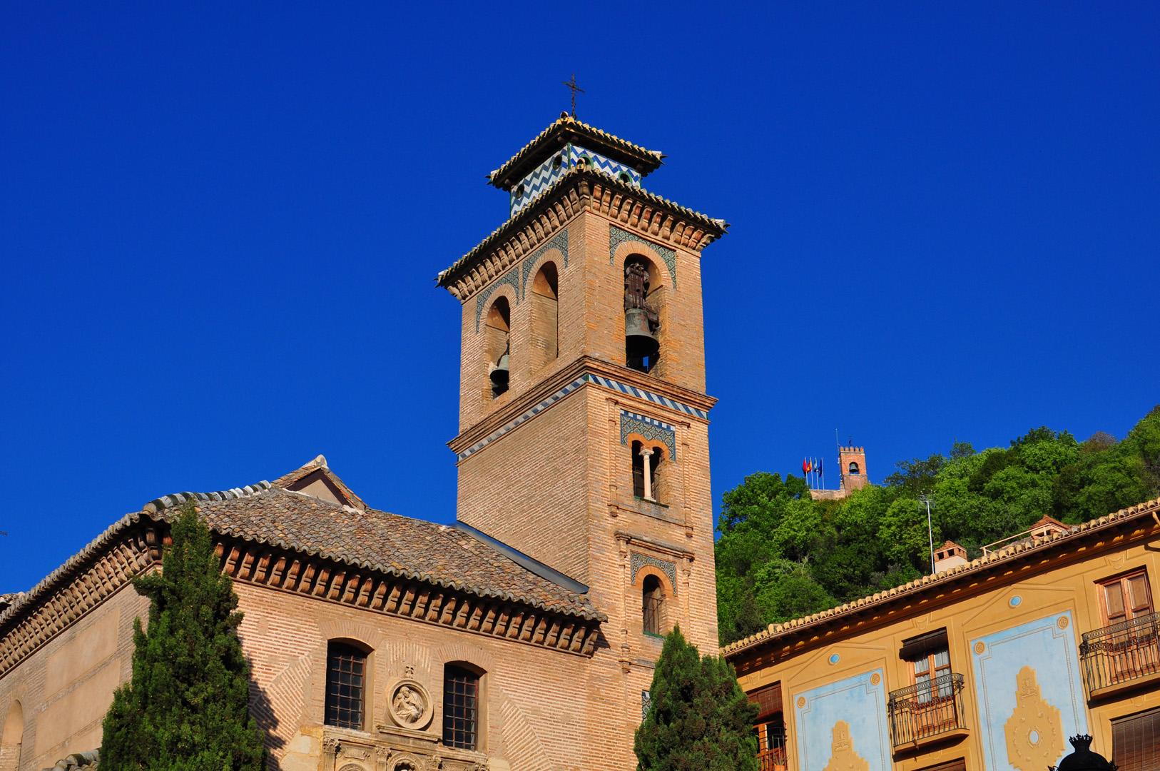 Antes de subir a la Alhambra